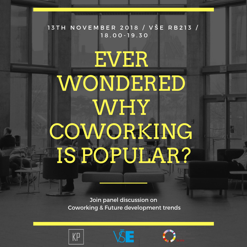 Panelová diskuze: Coworking a budoucí vývoj