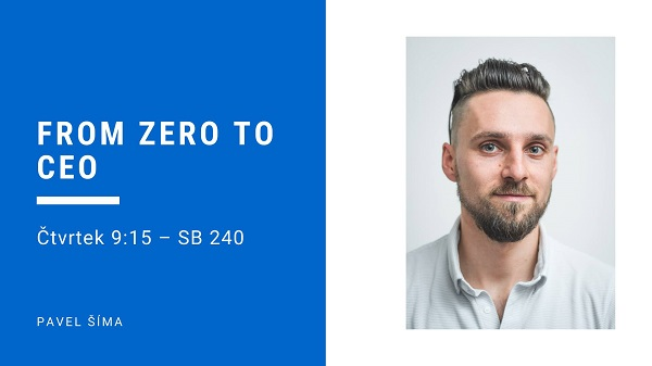 From zero to CEO (Pavel Šíma, Roivenue)