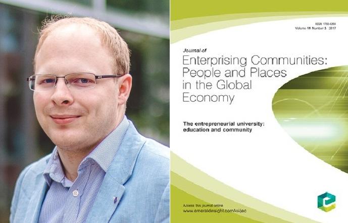 Katedra podnikání publikovala studii o determinantech podnikatelské aktivity v zemích Visegrádu v mezinárodním Journal of Enterprising Communities